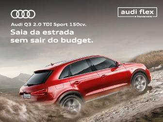Oportunidade Audi Flex Audi Q3 2.0 TDI Sport 150 cv.