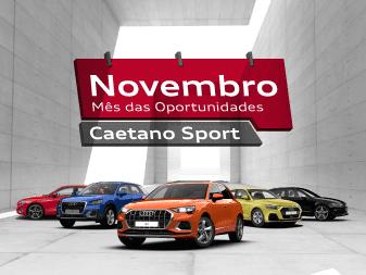 Novembro é o mês das oportunidades Audi na Caetano Sport