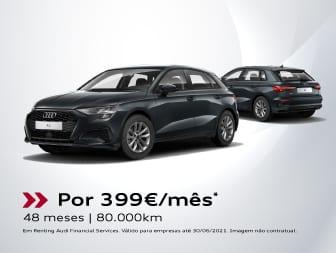 Audi A3 Sportback 30 TDI 116cv: um tratado desportivo já com tudo tratado.