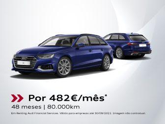 Audi A4 Avant 30 TDS S tronic 136 cv: Um desportivo é assim. Vem com tudo.