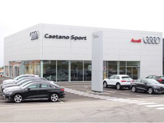 Novas instalações Caetano Sport em Vila Nova de Gaia